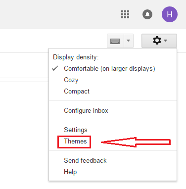 How to change your Gmail background theme - Hotmail Email ...