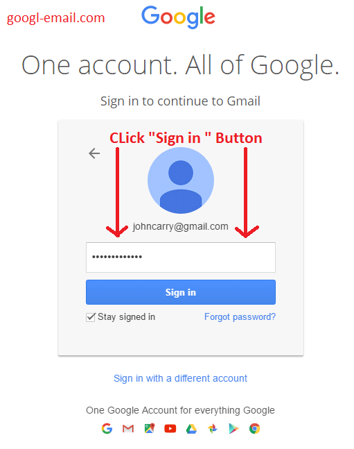 how to turn off sign in notification in gmail